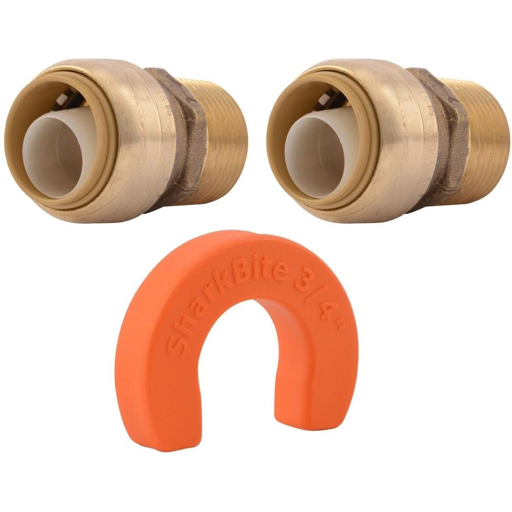 3/4 in. Push-to-Connect x 3/4 in. Male Pipe Thread Whole Home