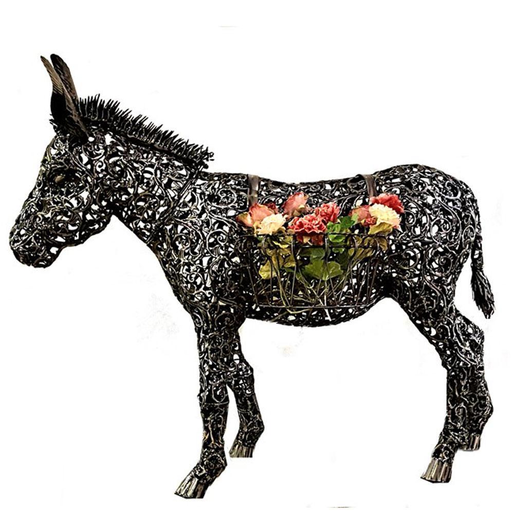 Donkey Flower Plant Stand
