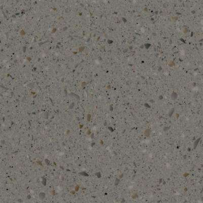 2 in. Solid Surface Countertop Sample in Kao