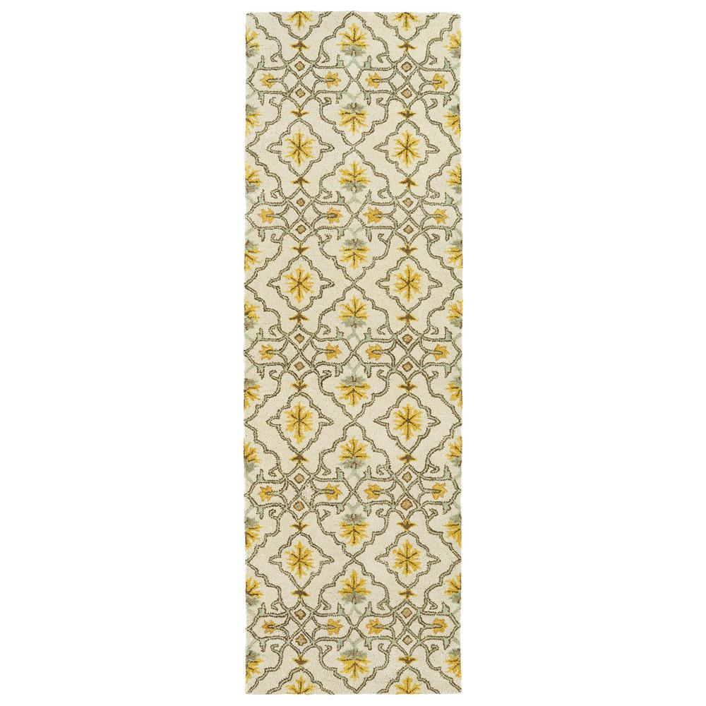 Helena Beige 2 ft. 6 in. x 8 ft. Runner