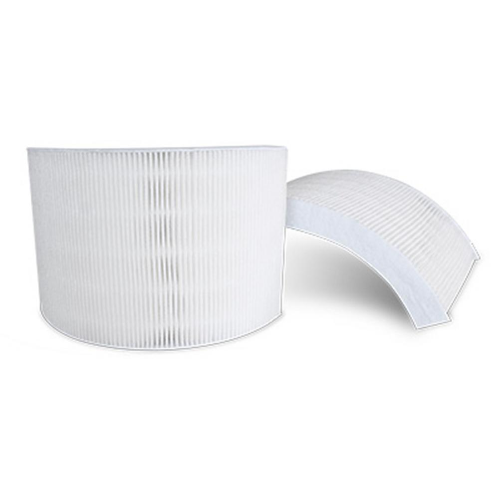 Crane Air Purifier Replacement Filter Set (2-pack), Whites This Crane Air Purifier Filter captures airborne dust and pollen while reducing smoke, mold spores, and pet dander. Fits the Crane Evaporative Humidifier and Air Purifier unit EE-7002 when it is used as an air purifier. The filters come in a 2 pack, 1 for each side panel on your Crane Air Purifier. Color: Whites.