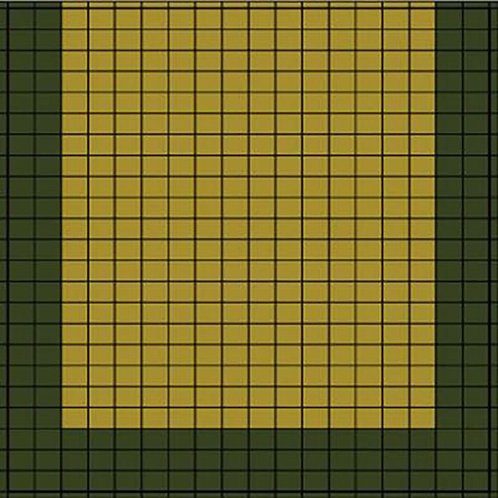 DuraPlay Court Tiles 15 ft. 0.58 in. x 19 ft. 0.75 in. Small Lane No ...