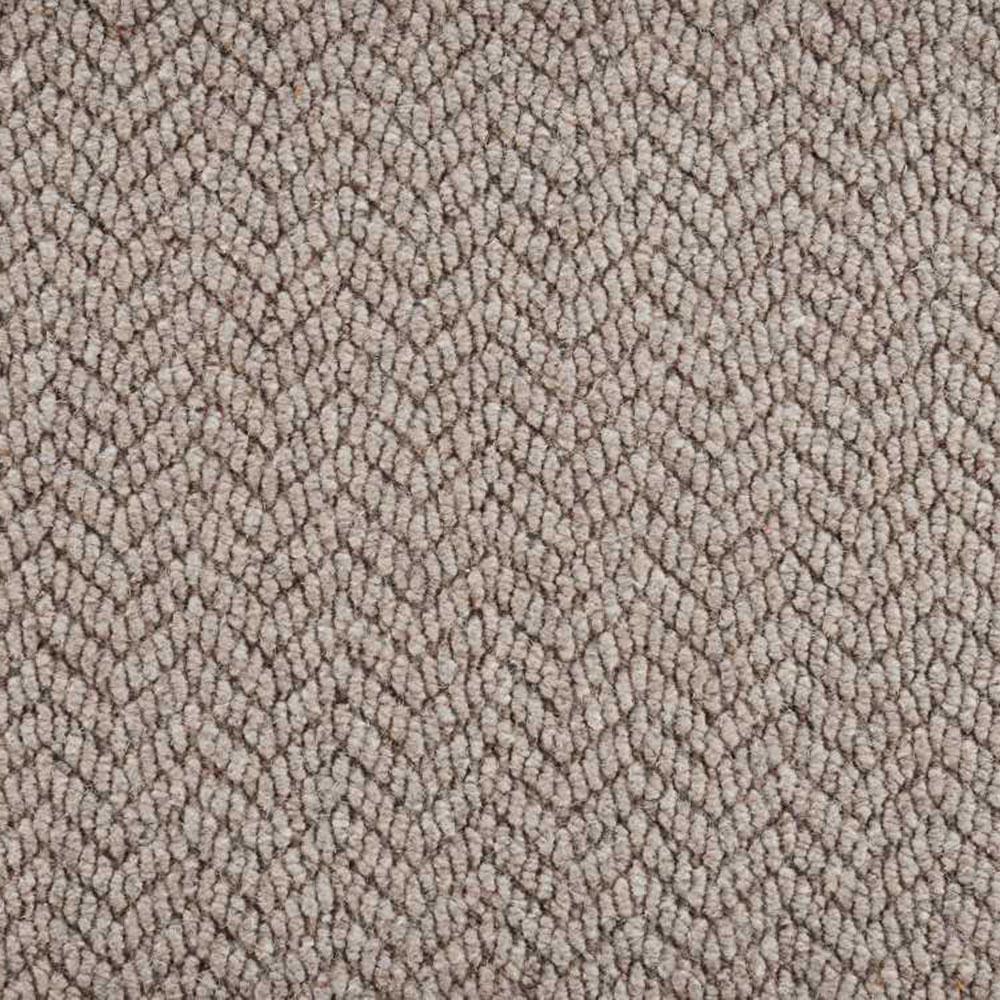 Natural Harmony Crescendo Cobblestone Custom Area Rug With Pad