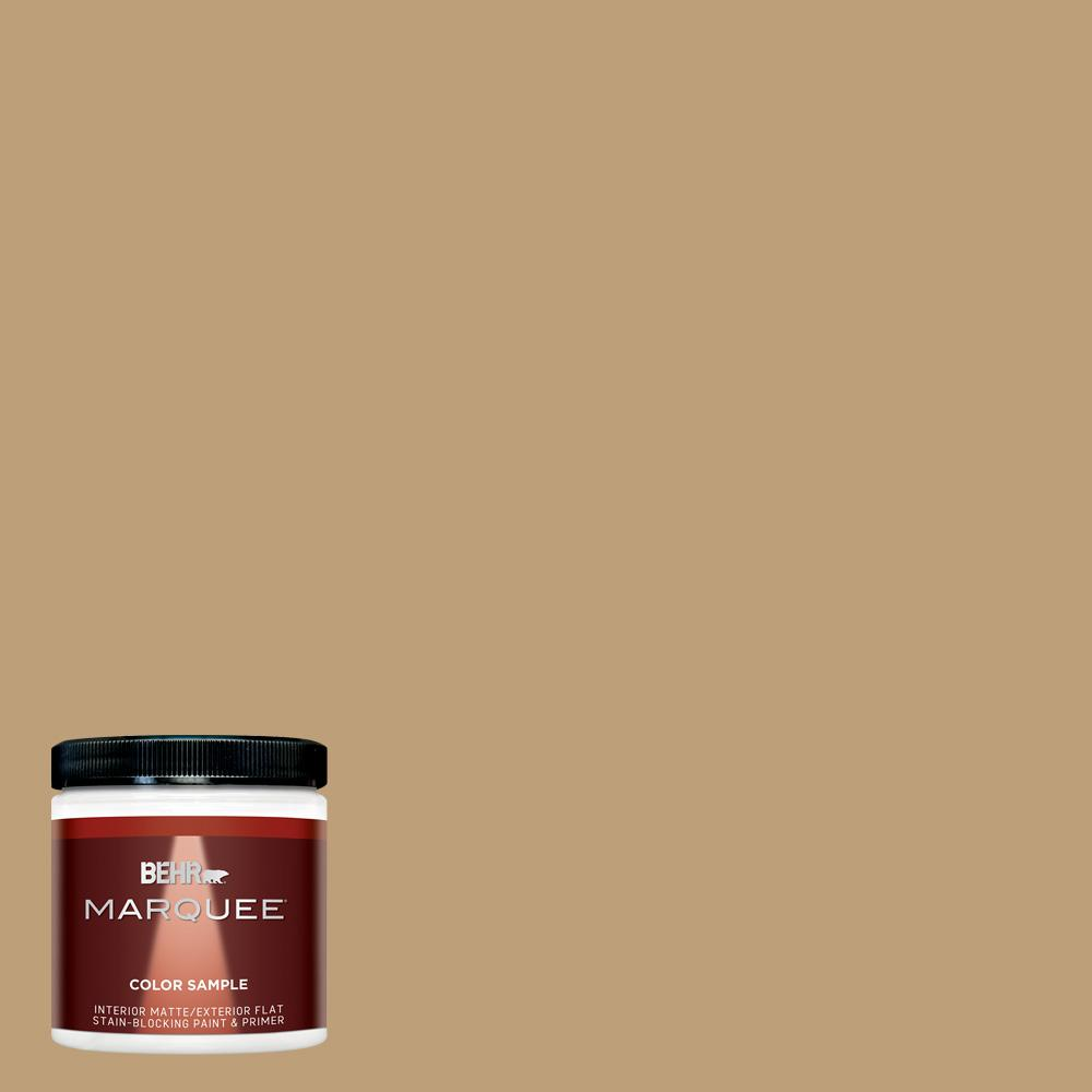 Behr Marquee 8 Oz Pmd 50 Winter Wheat Matte Interior