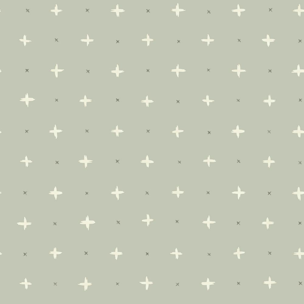 56 sq. ft. Cross Stitch Wallpaper