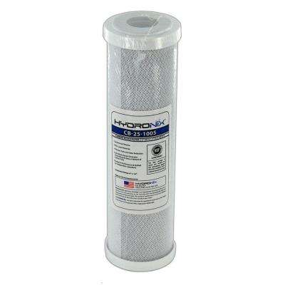 CB-25-1005 2.5 in. x 9-7/8 in. 5 Micron NSF Carbon Block Filter