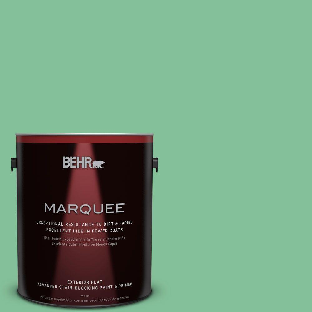 BEHR MARQUEE 1-gal. #P410-4 Willow Hedge Flat Exterior Paint