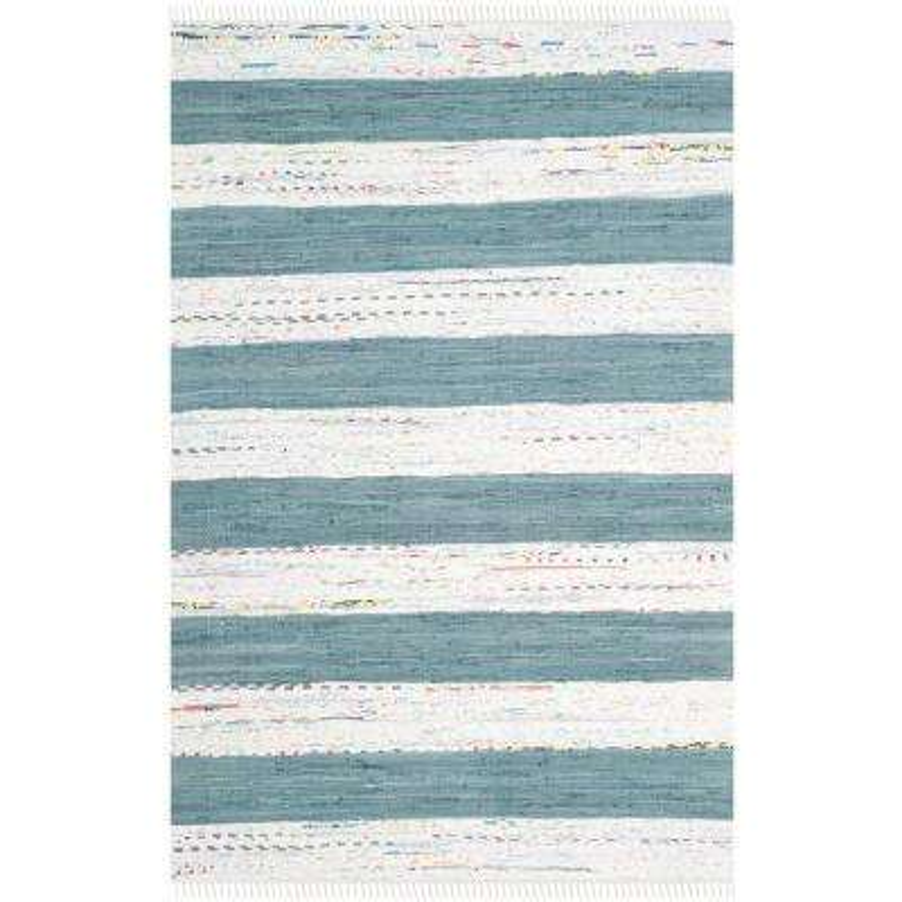 Montauk Ivory/Charcoal 8 ft. x 10 ft. Area Rug