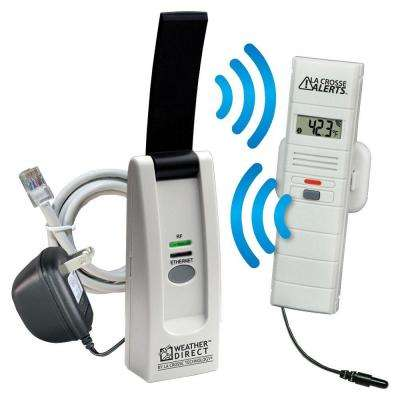 Wireless Temperature and Humidity Monitor System Set with Dry Probe