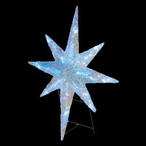 National Tree Company 42 In Ice Crystal Star With Led