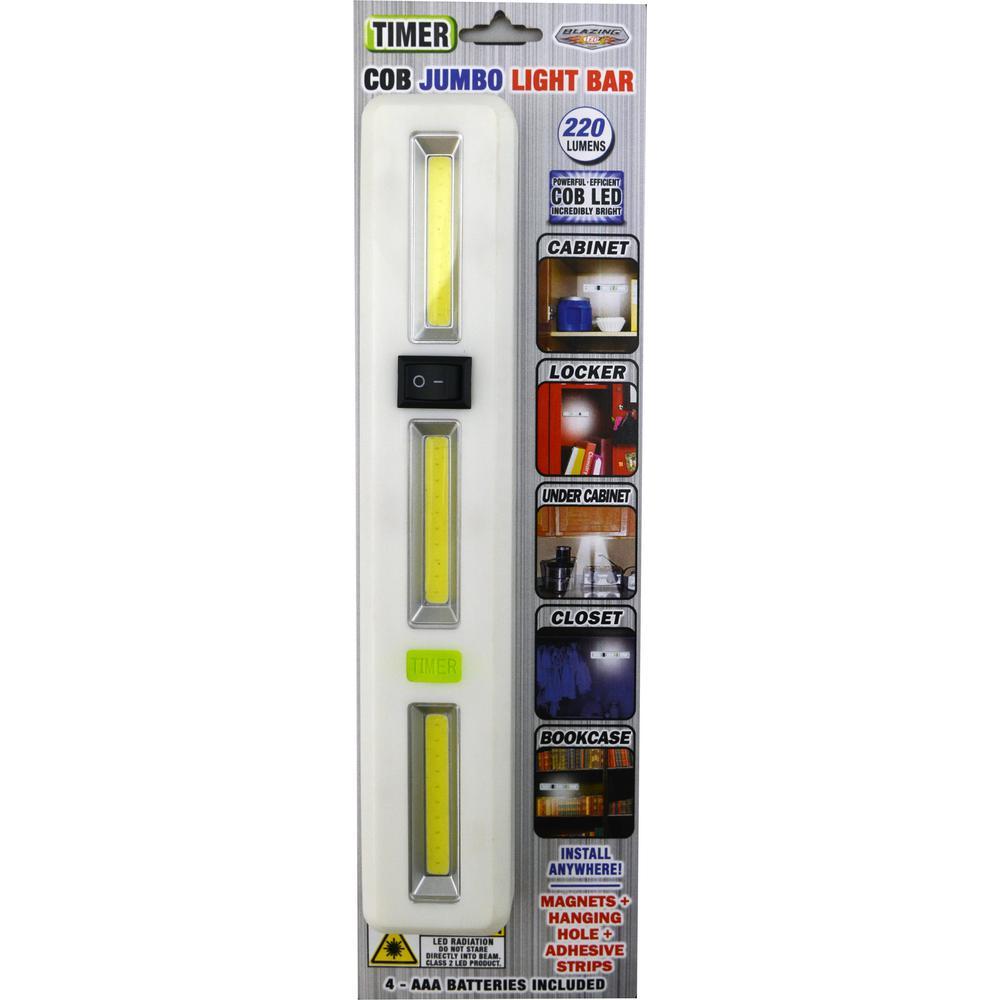 COB Jumbo Timer Light Bar (4-Pack)