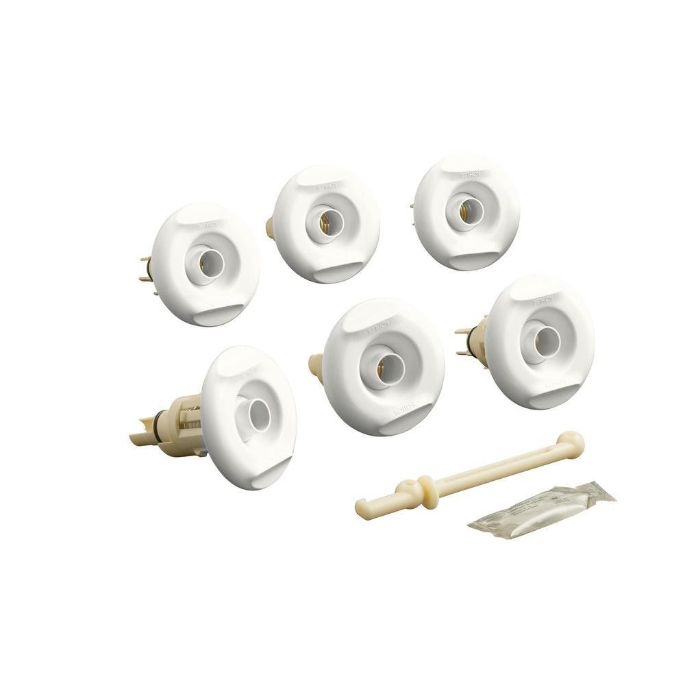 Flexjet Whirlpool Trim Kit in White