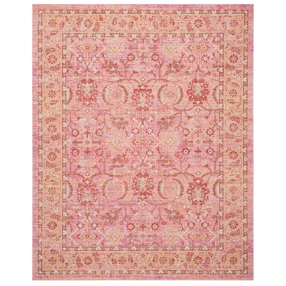 Safavieh Windsor Pink Orange 8 Ft X 10 Ft Area Rug Wds341b 8 The
