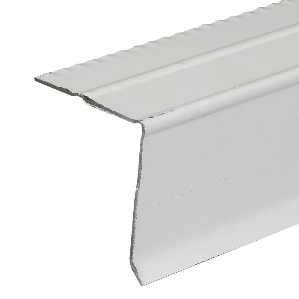 Amerimax Home Products C5 1 2 White Aluminum Drip Edge
