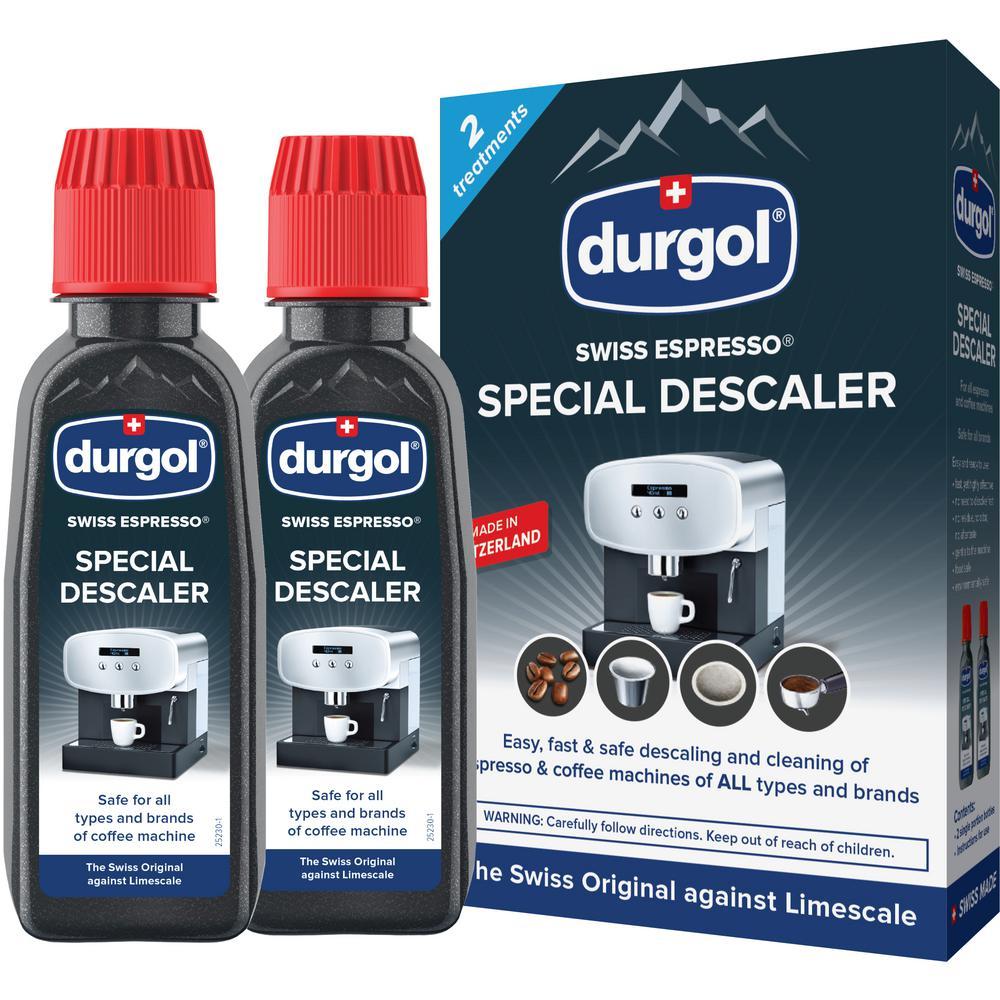 Swiss Espresso Machine Descaler/Decalcifier Solution (4-Pack)