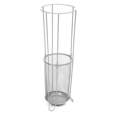 Silver Metal Mesh Connected Umbrella Stand