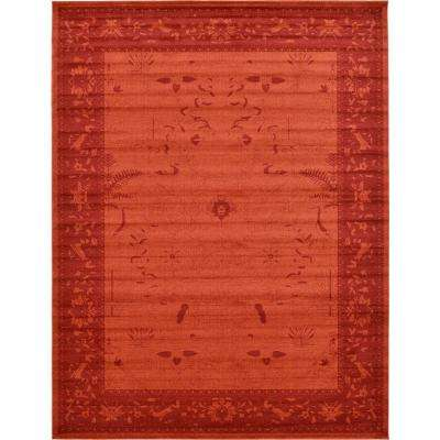 La Jolla Rust Red 12 ft. 2 in. x 16 ft. Area Rug