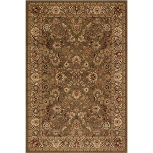 Concord Global Trading Persian Classics Mahal Green 2 ft. 7 inch x 5 ft. Accent Rug by Concord Global Trading