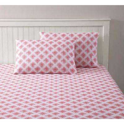 Summer Ikat Multi King Sheet Set by 1888 Mills Ltd