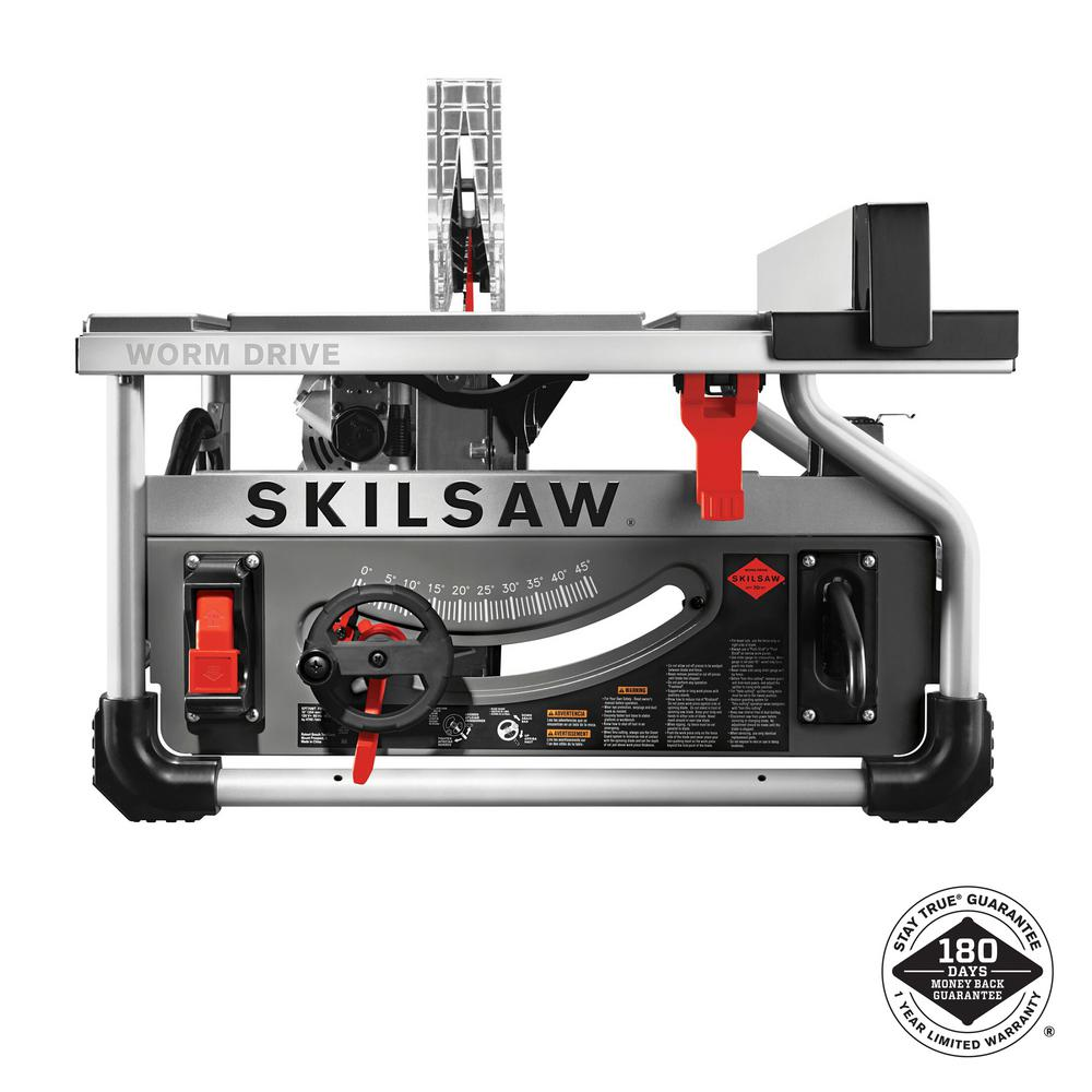 Skilsaw 15 amp corded electric 10 in portable worm drive table saw skilsaw 15 amp corded electric 10 in portable worm drive table saw kit with 30 keyboard keysfo Choice Image