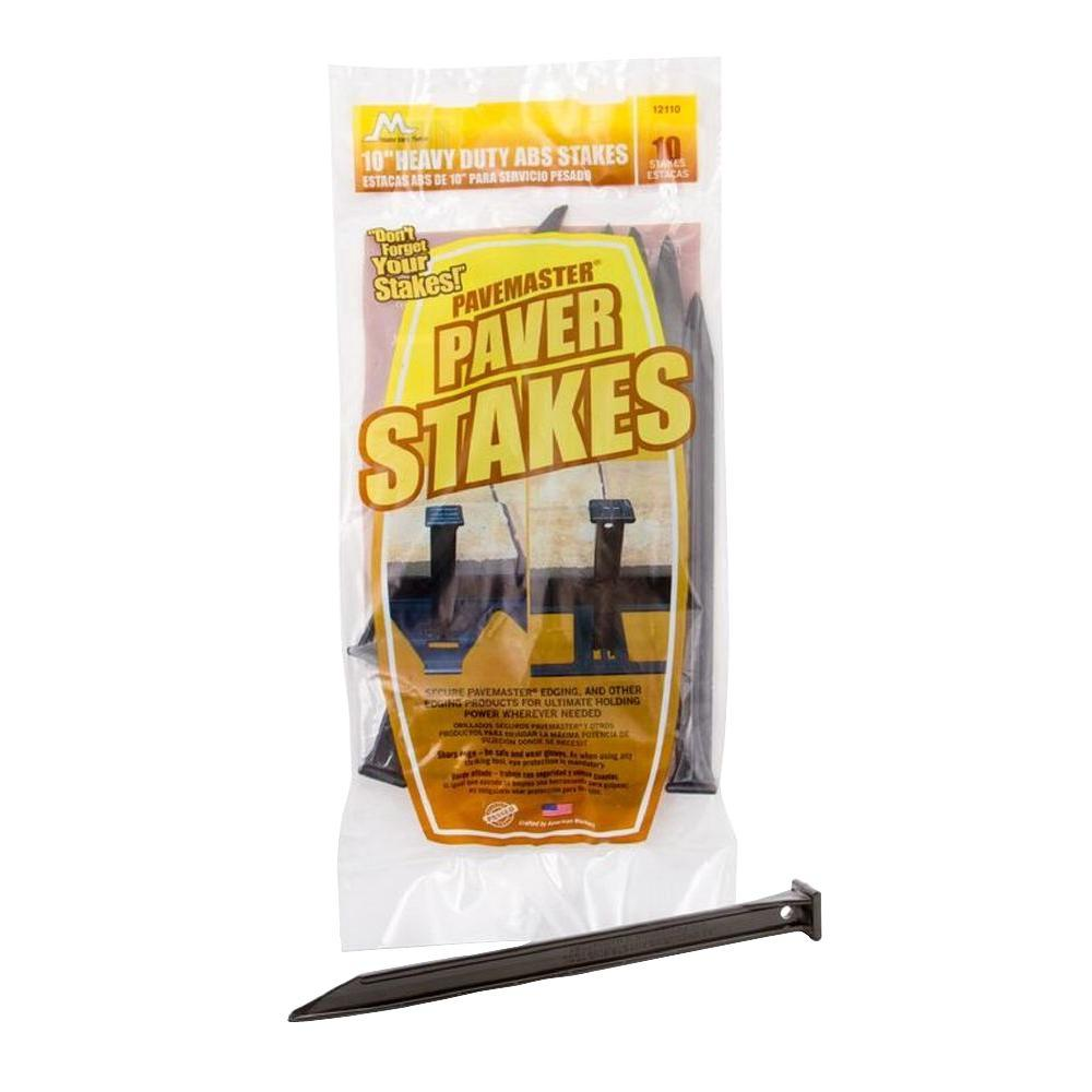 Master Mark 10 Abs Paver Stakes 10 Pack