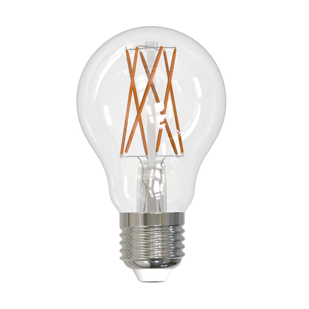 Bulbrite 40w Equivalent Warm White Light A19 Dimmable Led: LIFX 60-Watt Equivalent Mini Multi-Color A19 Dimmable Wi