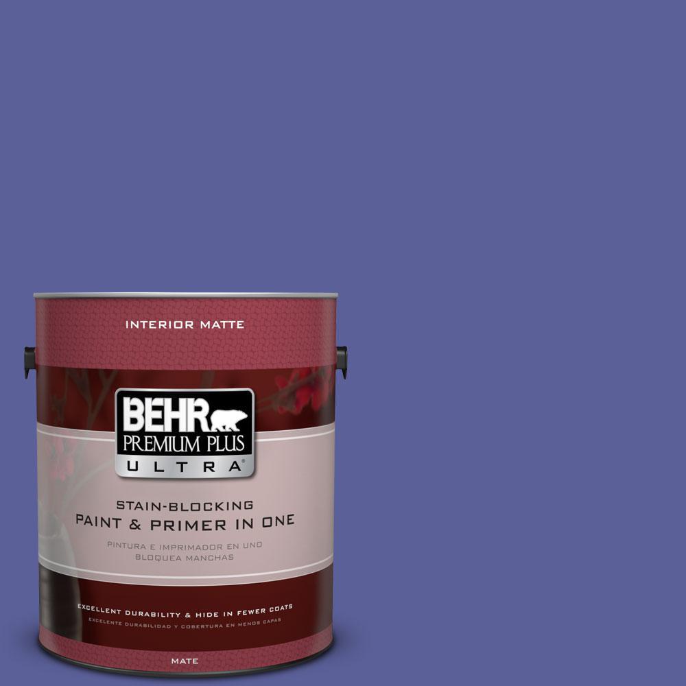 BEHR Premium Plus Ultra 1 gal. #P550-6 Wizard's Potion Matte Interior Paint