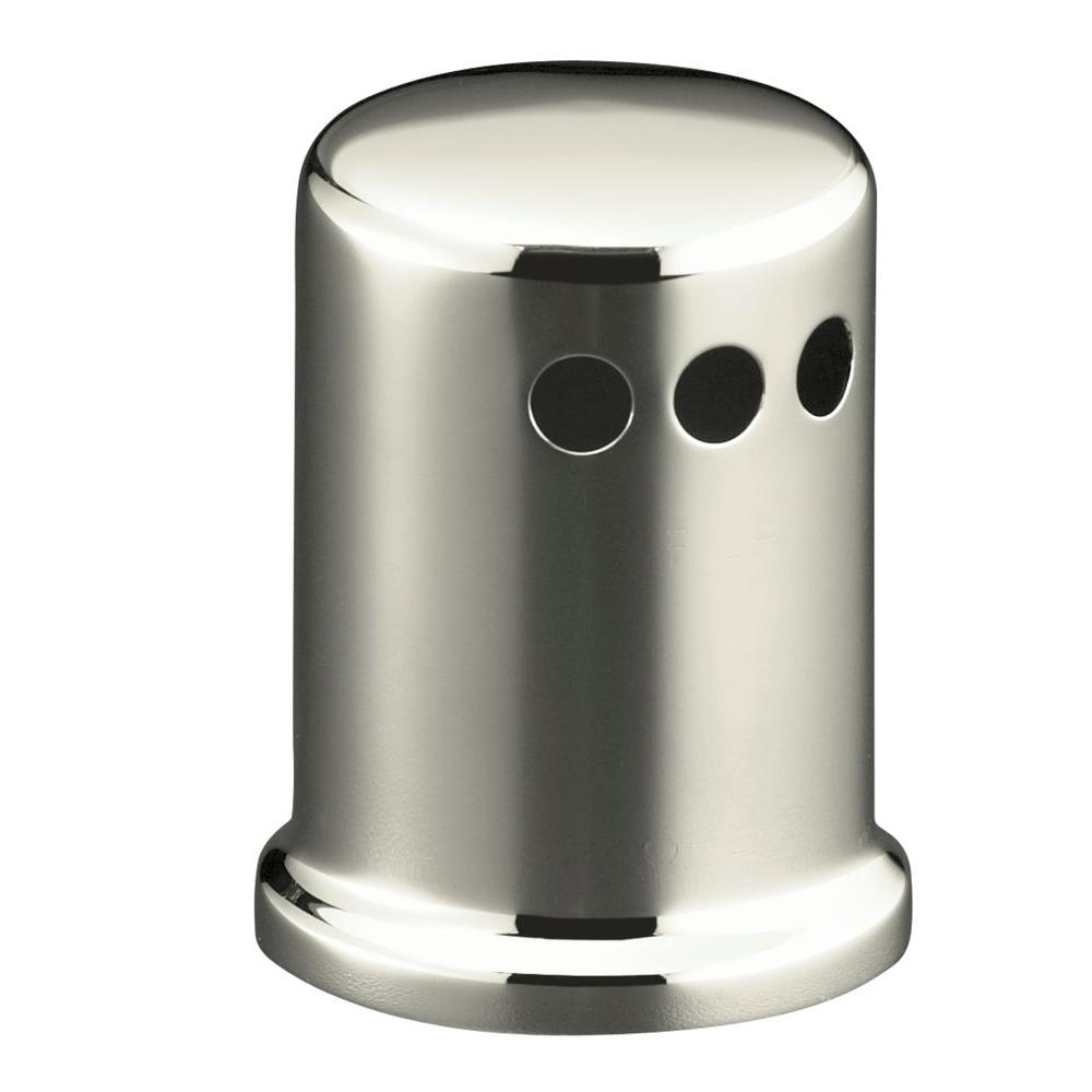 KOHLER Air Gap Cover with Collar in Vibrant Polished Nickel