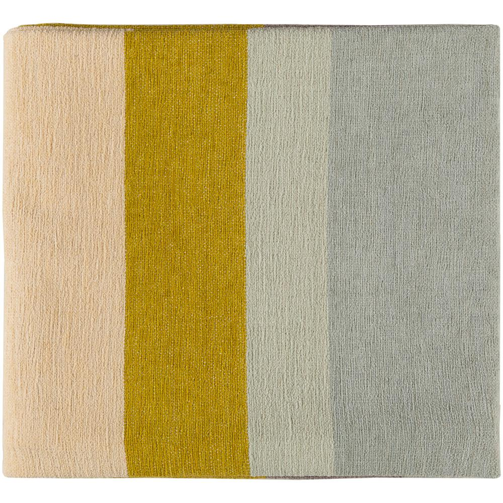 Marello Mustard Cotton Throw
