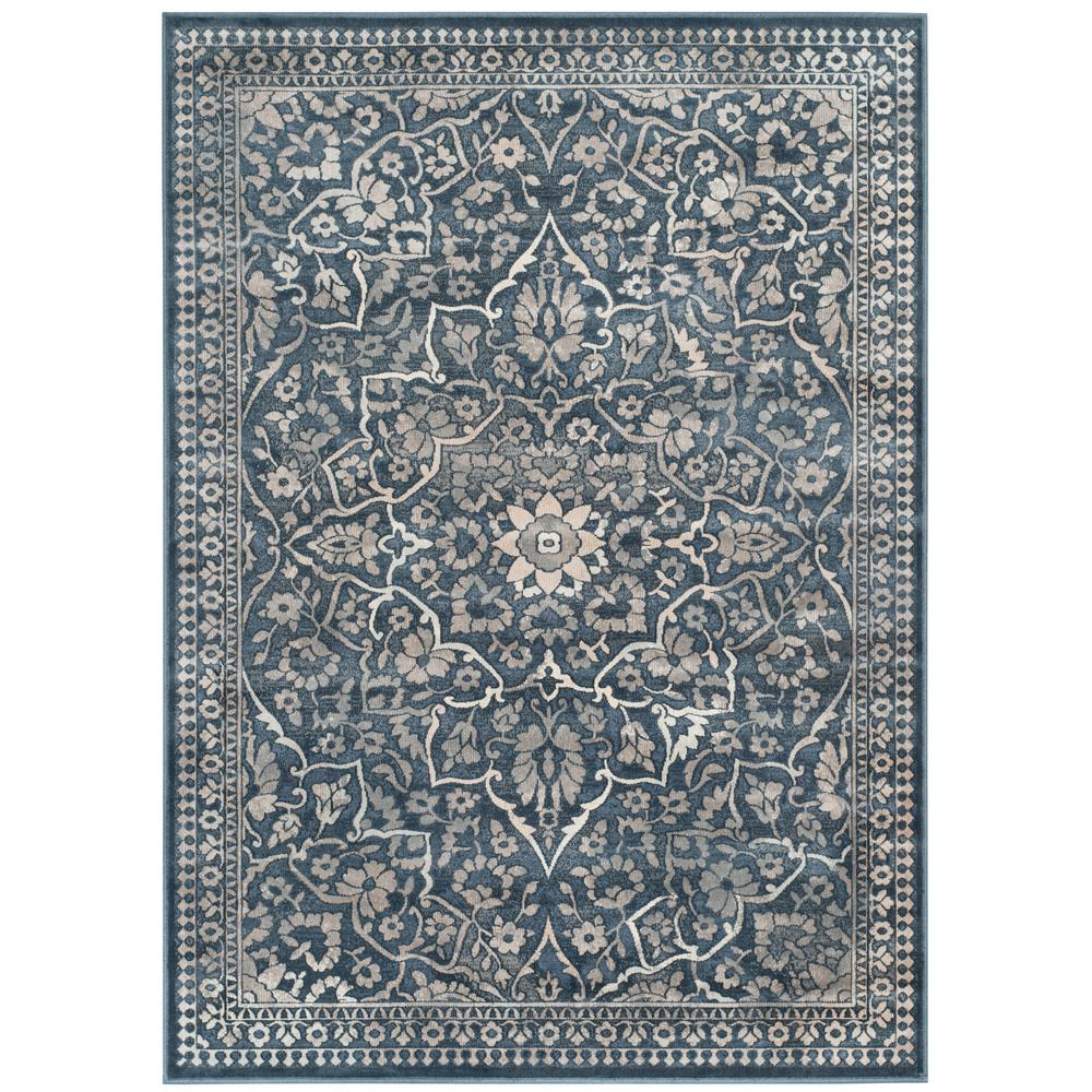 Safavieh Vintage Blue Light Gray 4 Ft X 5 Ft 7 In Area