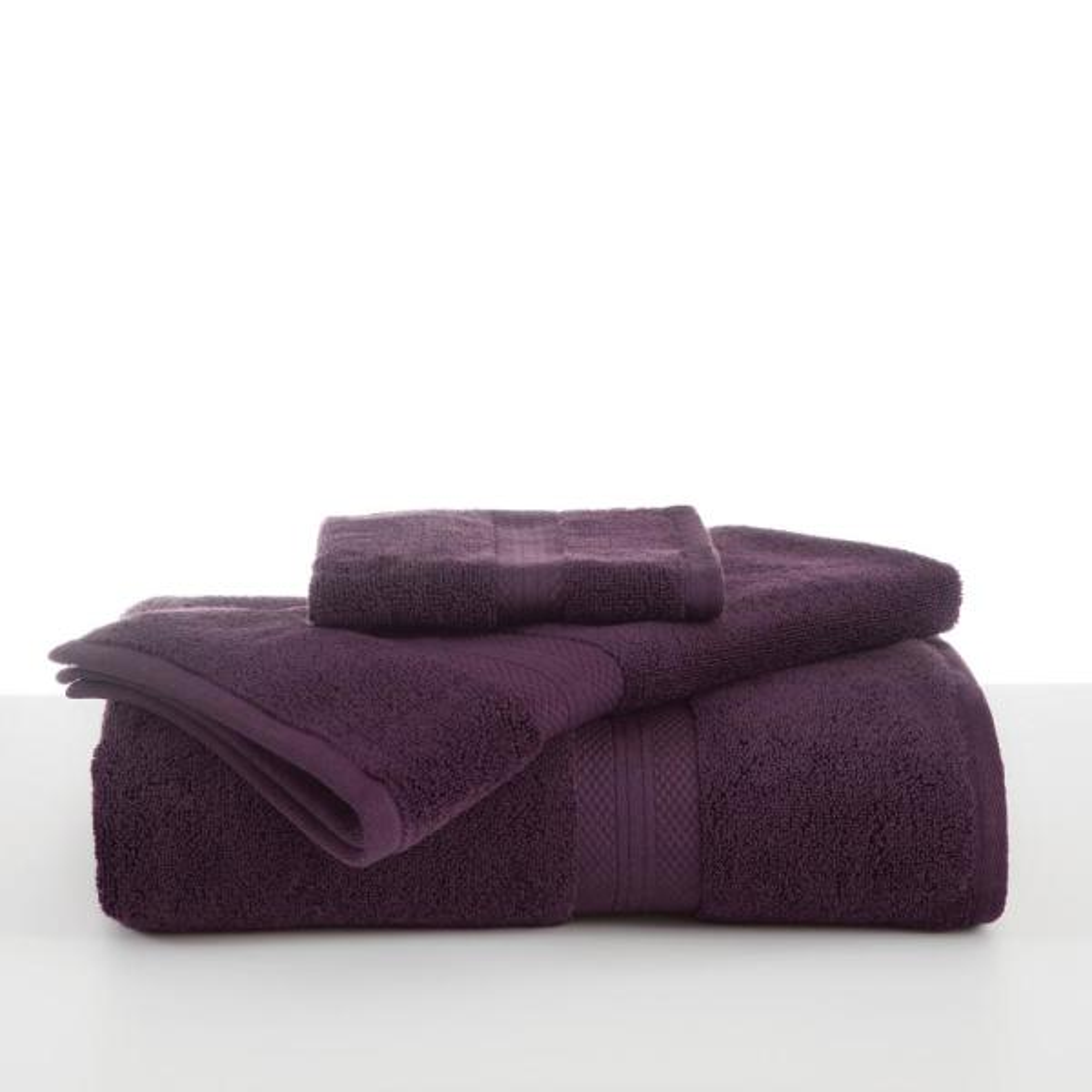 Martex Abundance Cotton Blend  Bath Towel in Black Plum