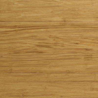 Strand Woven Natural 3/8 in. Thick x 5-1/8 in. Wide x 72 in. Length Click Lock Bamboo Flooring (25.75 sq. ft. / case)