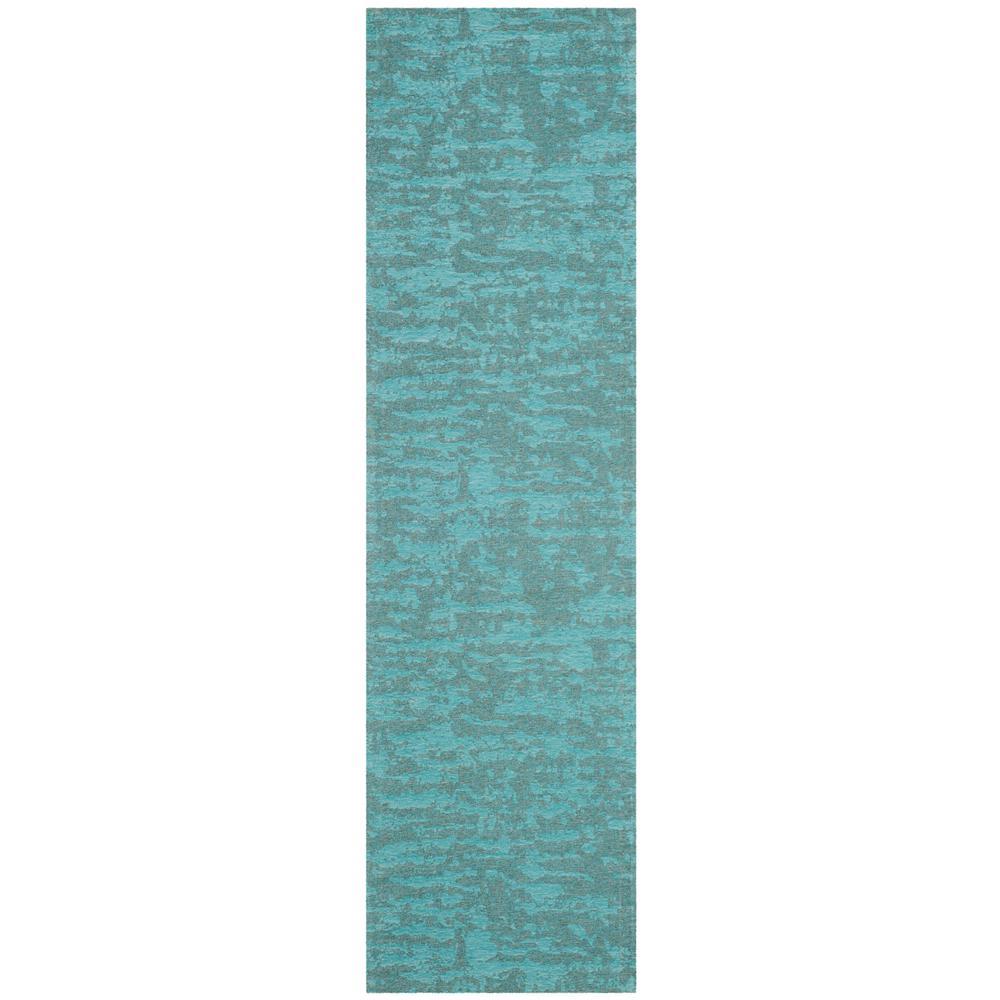 Safavieh Marbella Blue/Turquoise 2 ft. x 8 ft. Runner Rug