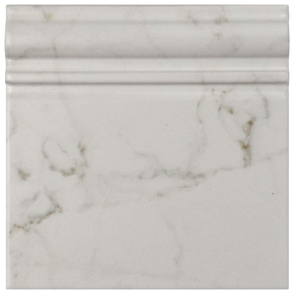 Merola tile classico carrara matte skirting base 6 in x 6 in merola tile classico carrara matte skirting base 6 in x 6 in ceramic wall dailygadgetfo Image collections