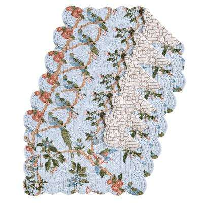 Marianne Blue Placemat (Set of 6)