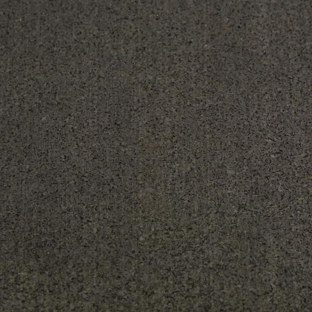 Elliptical Mat 3/16 in. x 48 in. x 78 in. Black Heavy-Duty Rubber Mat