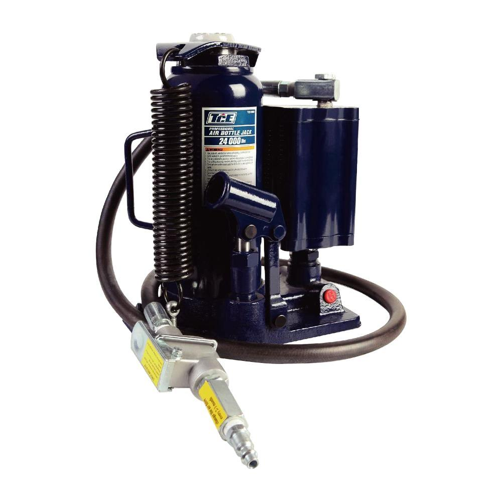 Tce 12 Ton Air Hydraulic Bottle Jack Tce31000 The Home Depot