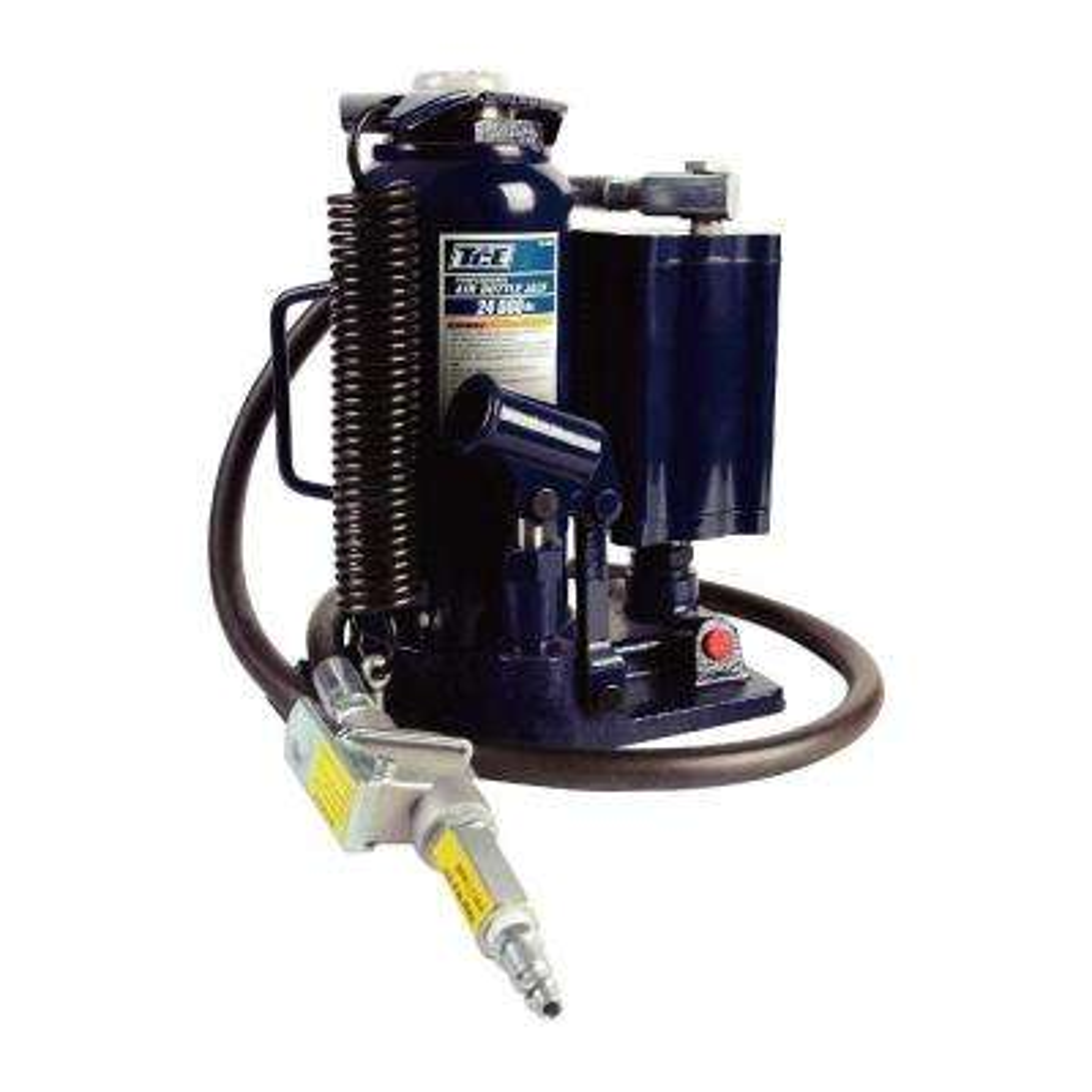 12-Ton Air Hydraulic Bottle Jack
