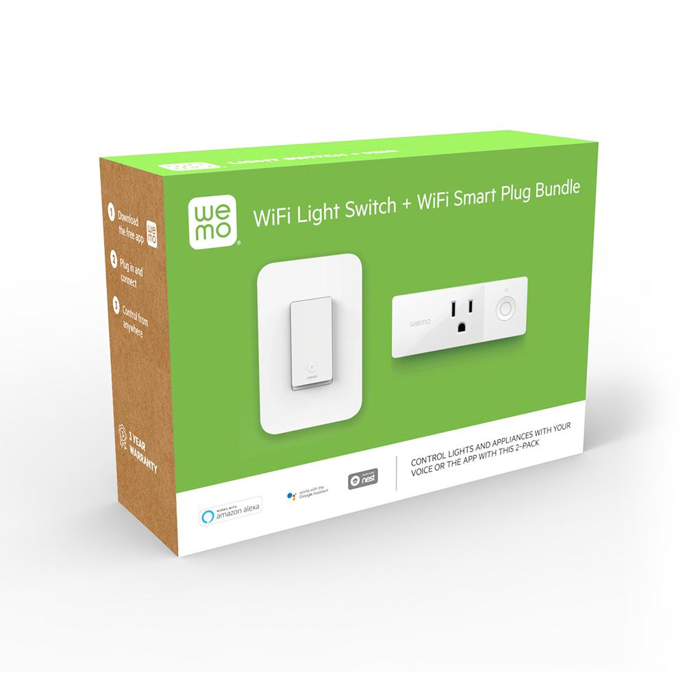 Wemo Wi Fi Light Switch And Smart Plug Bundle Wlsp3063 Bdl The Wiring From