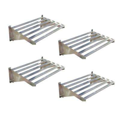 Heavy Duty Greenhouse Shelf Bundle 4-Piece