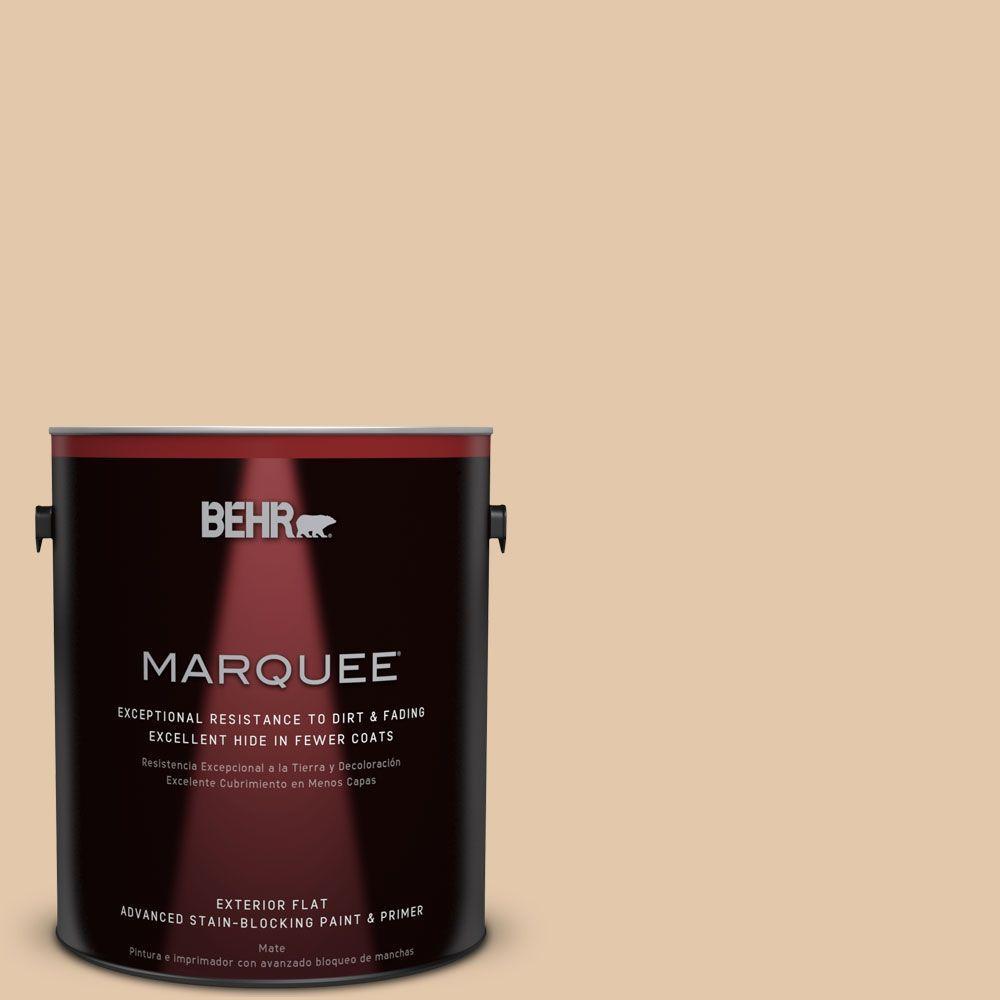 BEHR MARQUEE 1-gal. #MQ2-45 Craft Juggler Flat Exterior Paint