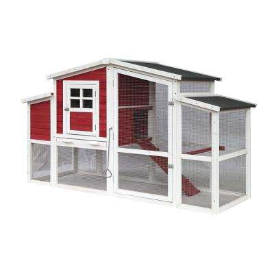 2-Story Wooden Chicken Coop