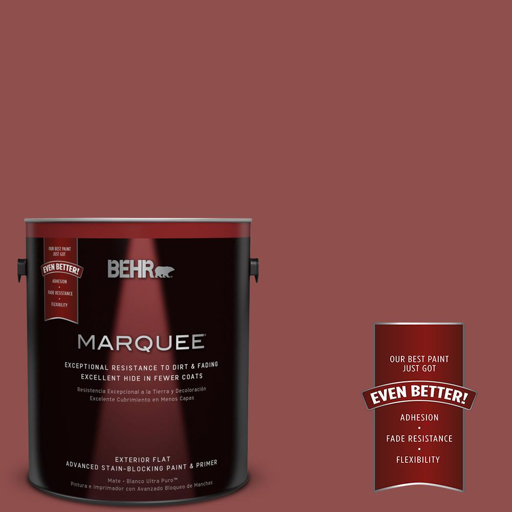 s140 6 moroccan ruby flat exterior paint - Moroccan Red Paint