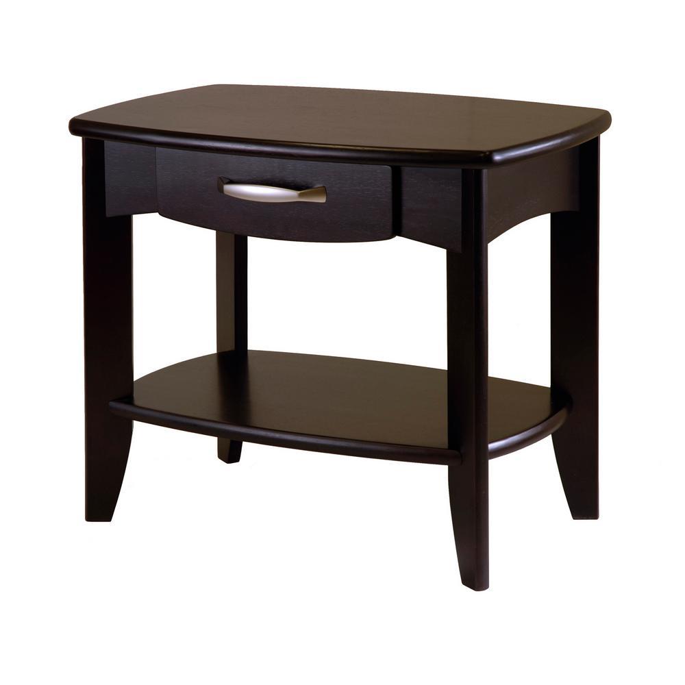 Danica Espresso End Table