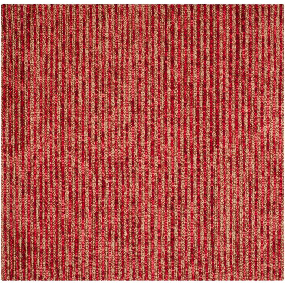 Safavieh Bohemian Red Multi 6 Ft X 6 Ft Square Area Rug