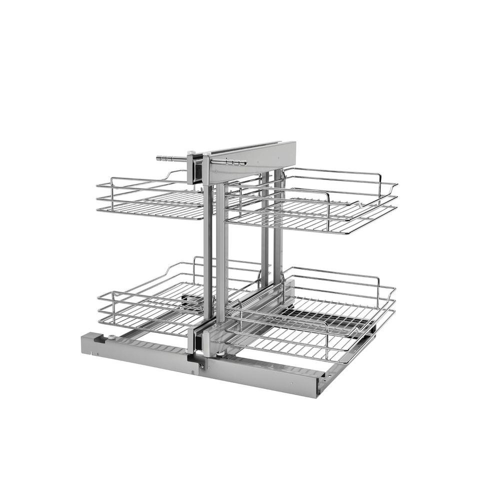 Rev-A-Shelf 18.87 in. H x 34.25 in. W x 10.25 in. D Large Wall ...