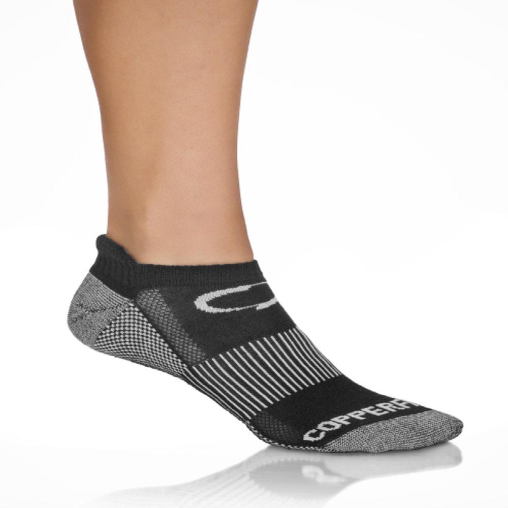 071f99c19 COPPER FIT Large X-Large Black Copper Infused Sport Socks (3-Pack ...