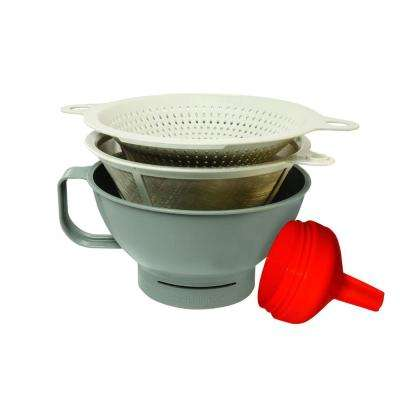 filter 4 piece funnel set - Kitchen Funnel