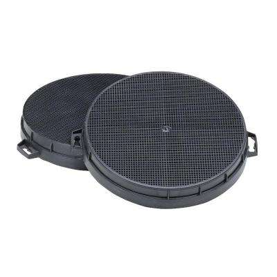 61000 Series Range Hood Non-Ducted Replacement Filter (2-Piece)