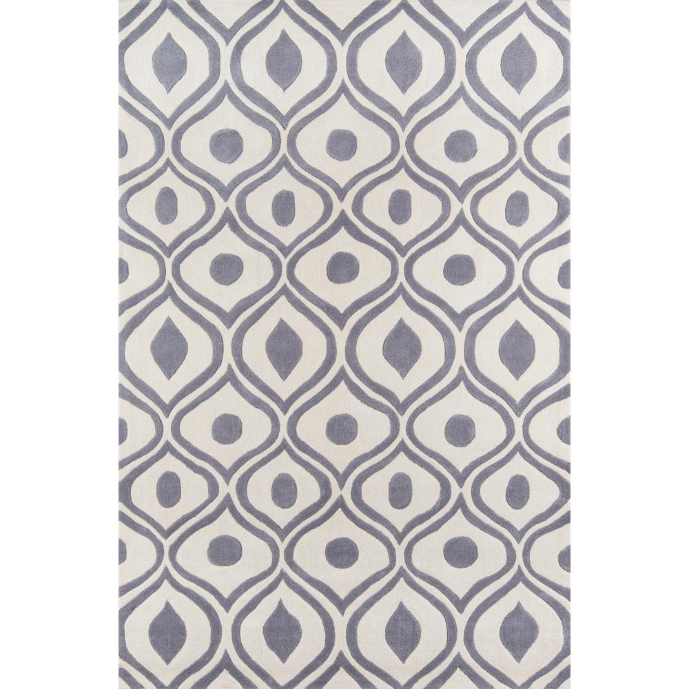 Blythe Dark Grey 5 Ft. X 7 Ft. 5 In. Area Rug-RZBD16B-5075